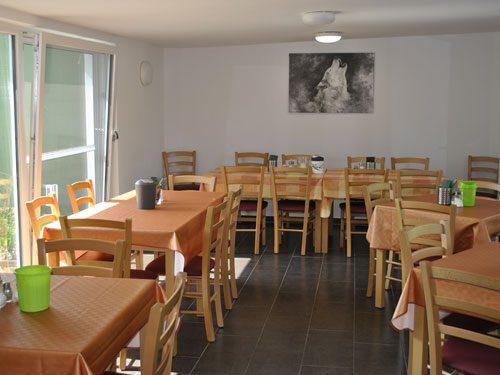 Pension Günzburg Frühstücksraum